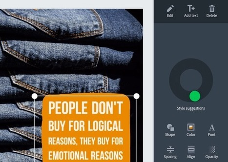 3 Tools to Create Social Media Visuals #socialmediamarketing | MarketingHits | Scoop.it