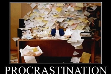 Why Do We Procrastinate? The Data Behind Procrastination | Life @ Work | Scoop.it