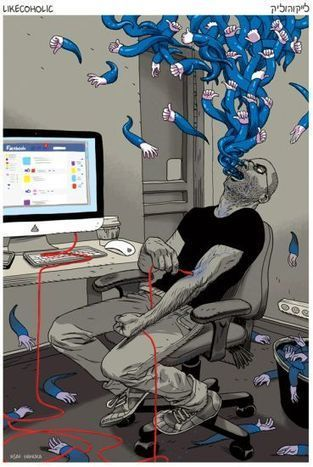 Les 6 signes de l'addiction à Facebook | Webmarketing, Medias Sociaux | Scoop.it