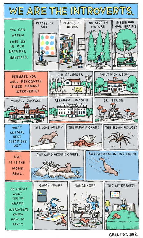 INCIDENTAL COMICS: We Are the Introverts | Introverted Leadership | Scoop.it
