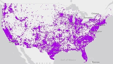Where 60 Million People in the U.S. Don't Speak English at Home | political geography | Scoop.it