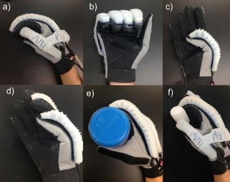 Inventan un guante robótico que ayuda a recuperar los movimientos de la mano | TECNOLOGÍAS EN MATEMÁTICA EDUCATIVA | Scoop.it