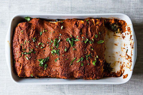 Cold Weather Vegan Enchiladas | My Vegan recipes | Scoop.it