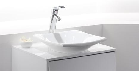 Quelle vasque dans ma salle de bains, toilettes et autres pièces ? | Espace Aubade | Scoop.it