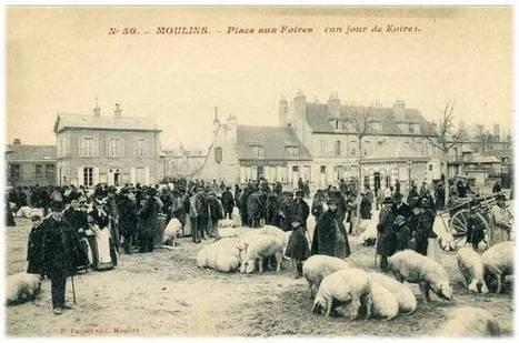 Auvergne pittoresque : Cartes postales anciennes de Moulins (Allier) | Auprès de nos Racines - Généalogie | Scoop.it
