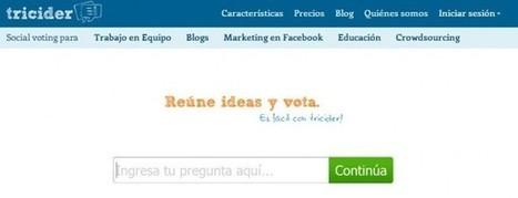Tricider, el servicio de captura de opiniones, ahora en español | Redes Sociales ES | Scoop.it