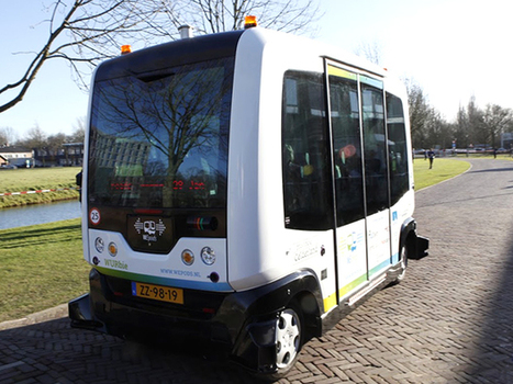 Driverless Dutch Bus Takes Passengers on Public Test | Technology in Business Today | Scoop.it