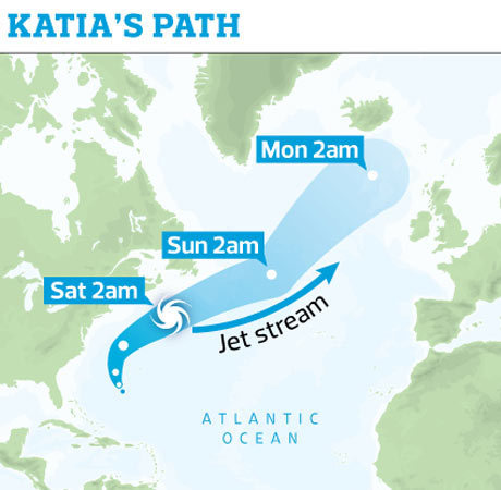 UK: Hurricane Katia threatens flood chaos in northern Britain | Climate Change, Agriculture & Food Security | Scoop.it