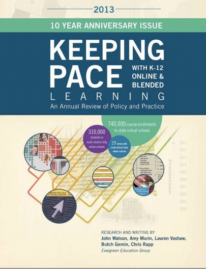 Keeping Pace with K-12 Online and Blended Learning, 2013 Edition now available ~ iNACOL | :: The 4th Era :: | Scoop.it
