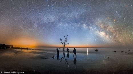 Three friends, Milky Way, planets | EarthSky.org | Sustainable Futures | Scoop.it