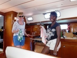 Cooking on Boats: Food Fit for a Captain | Bluewater Sailing | All about water, the oceans, environmental issues | Scoop.it
