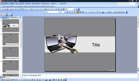 Computer PowerPoint Templates | Free Powerpoint Templates | Computing | Scoop.it