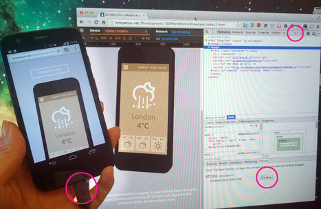 Responsive Web Made Easier with Chrome DevTools Device Mode | HTML5 CSS3 | Scoop.it