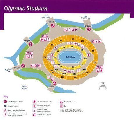 Olympic Stadium Seating Plan | Football Stadium Guides | Scoop.it