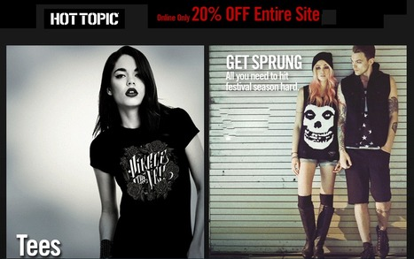 hot topic promo codes online discounts | fashion | Scoop.it