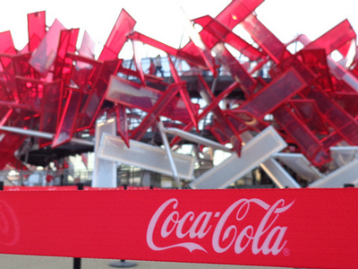 13 Pictures Of Overkill Branding At Olympic Park | Media, Branding, and Marketing | Scoop.it