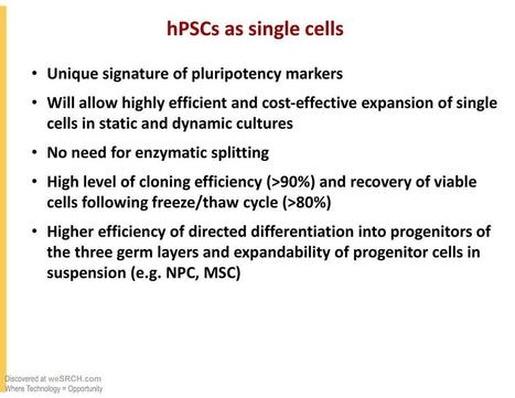 hPSCs As Single Cells - free slide submission, upload slide - weSRCH | wesrch | Scoop.it