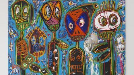 PODCAST Aboudia, le «nouchi» de la peinture s'expose à Londres et New York   Galerie Cécile Fakhoury - Abidjan   Scoop.it