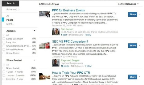 LinkedIn Gives Search A Promotion By Adding Better Post Results & Richer, Personalized Listings | Top LinkedIn Tips | Scoop.it