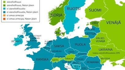Suomi on yksin Euroopan asevelvollisuuskartalla | Yhteiskuntatieto | Scoop.it