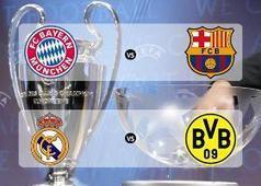 Semifinales Champions League : FC Bayern München vs FC Barcelona y Real Madrid CF vs Borussia Dortmund | Fútbol y Cia. | Scoop.it
