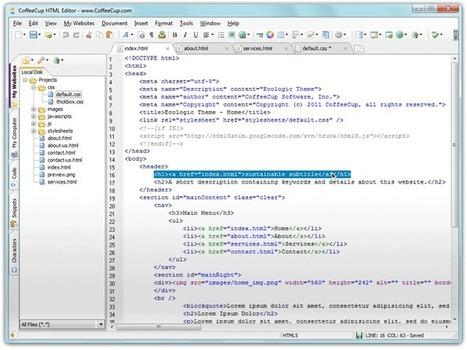 Free HTML Editor | CoffeeCup Software | Admirável Rede Nova | Scoop.it