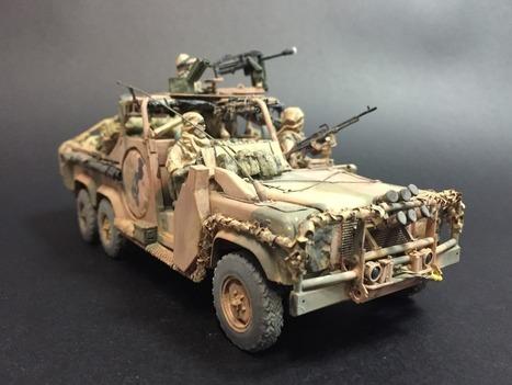 Aussie SASR 6x6 LRPV | Military Miniatures H.Q. | Scoop.it