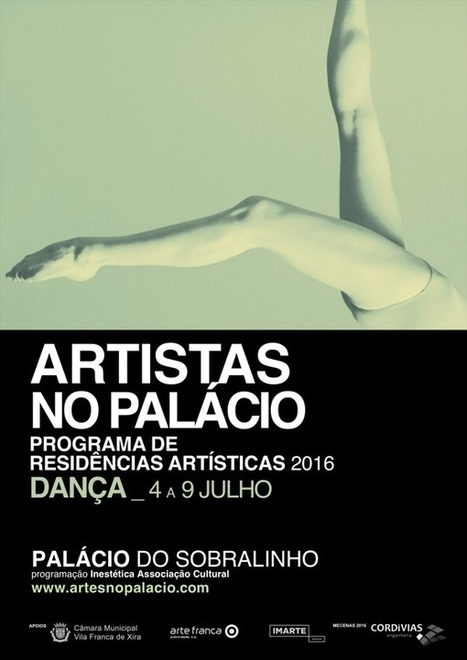 Artistas no Palácio – Programa de Residências Artísticas | Dança | Xira News | Scoop.it