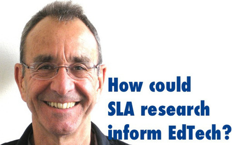 How could SLA research inform EdTech? | Be The DOS | Scoop.it