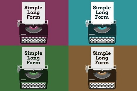 Preview : Simple Long Form, version 1.0 | Presse en vrac | Scoop.it