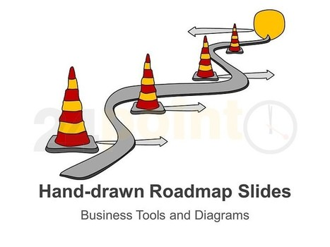 Roadmap Template - Hand-drawn PowerPoint Template | PowerPoint Presentation Tools and Resources | Scoop.it