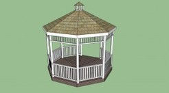 Gazebo | HowToSpecialist - How to Build, Step by Step DIY Plans | Garden Plans | Scoop.it