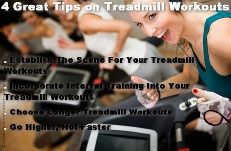 4 Great Tips on Treadmill Workouts - Stomach exercises | 4 Great Tips on Treadmill Workouts | Scoop.it