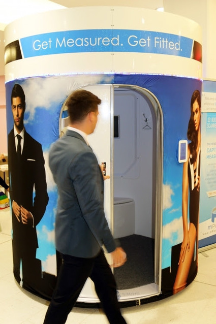 Tailor enlists help from 3D body scanning technology to create perfectly ... - Marketing magazine Australia | 3D printing | Scoop.it