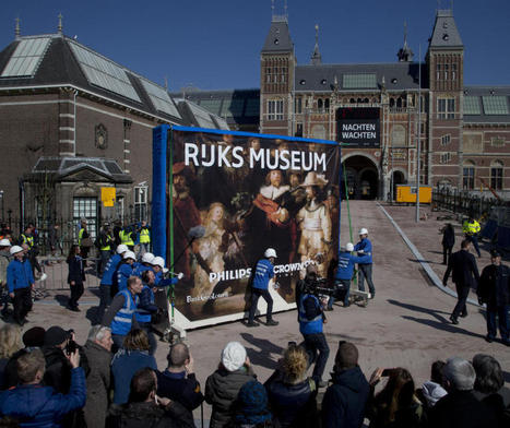 Rembrandt's 'Night Watch' returned to Amsterdam museum - CBS News | Dutch | Scoop.it