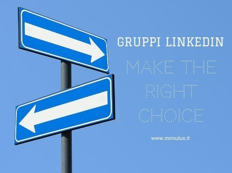 Gruppi LinkedIn: come scegliere quelli giusti e come usarli | Digital Friday | Scoop.it