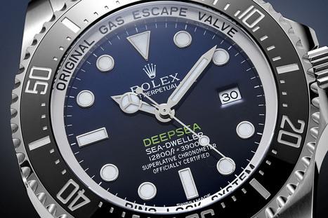 The Deepsea's Feeling Blue - Rolex Deepsea D-Blue - Dapperality   luxury watches   Scoop.it
