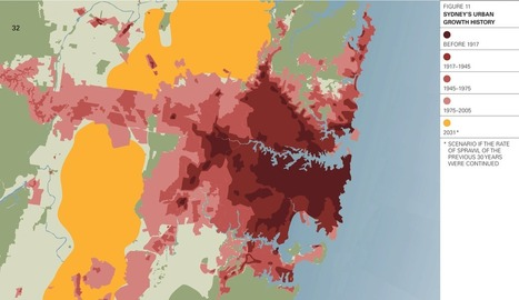 Sydney's urban growth history   Urban Places   Scoop.it