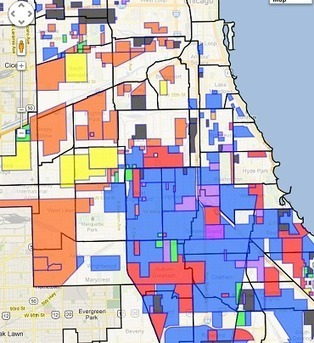 Map of the Week: Mapping the Gangs of Chicago-is there any value? | #GoogleMaps | Scoop.it