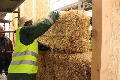 Balas de paja adecuadas para la construcción de casas - Casas Ecológicas   Casa ecológica o autosuficiente.   Scoop.it