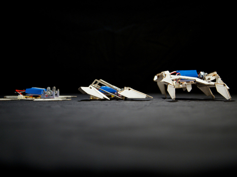 Transformer Paper Turns Itself Into A Robot. Cool! | Heron | Scoop.it