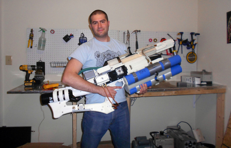 3D printing used to make first real handheld railgun, which fires plasma projectiles at 560 mph | Digital TV | Scoop.it