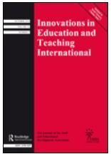 Innovations in Education and Teaching International | Research Journals for Master & PHD Students | Scoop.it
