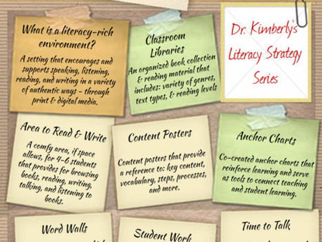 The Elements Of A Literacy-Rich Classroom Environment | Education | Scoop.it