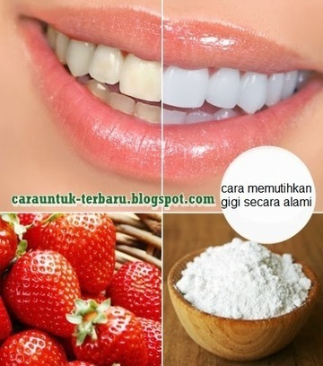 Cara Alami Untuk Memutihkan Gigi | kecantikan kesehatan hobi | Scoop.it