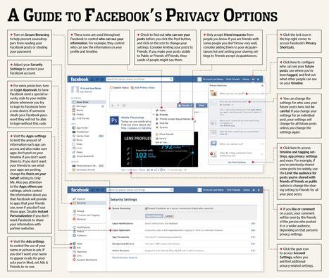 Comment gérer ses paramètres de confidentialité sur Facebook en une image? | E-Réputation des marques et des personnes : mode d'emploi | Scoop.it