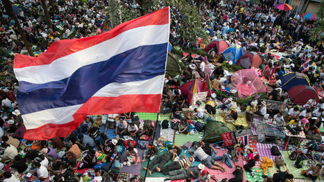 Protesters Occupy Bangkok's Central Business District | American Government | Scoop.it