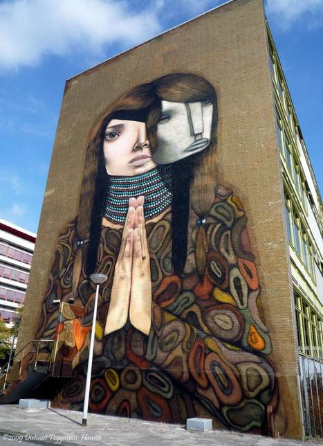 Las 10 ciudades europeas a la vanguardia del Arte Urbano. Entre ellas Bristol y Granada. | Urbanismo, urbano, personas | Scoop.it