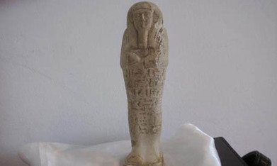 Egypt recovers 26th dynasty faience statuette in Austria - Ancient Egypt - Heritage - Ahram Online | Egiptología | Scoop.it