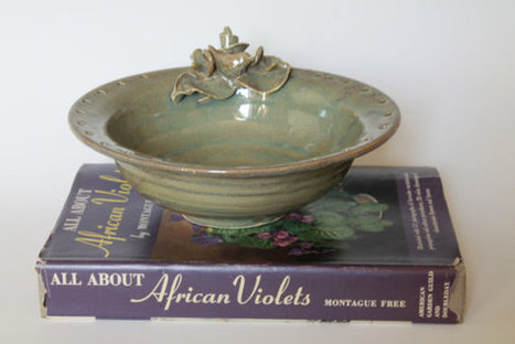 Jewelry bowl with birds and flowers, Nature inspired home decor | Good stuff to get | Scoop.it